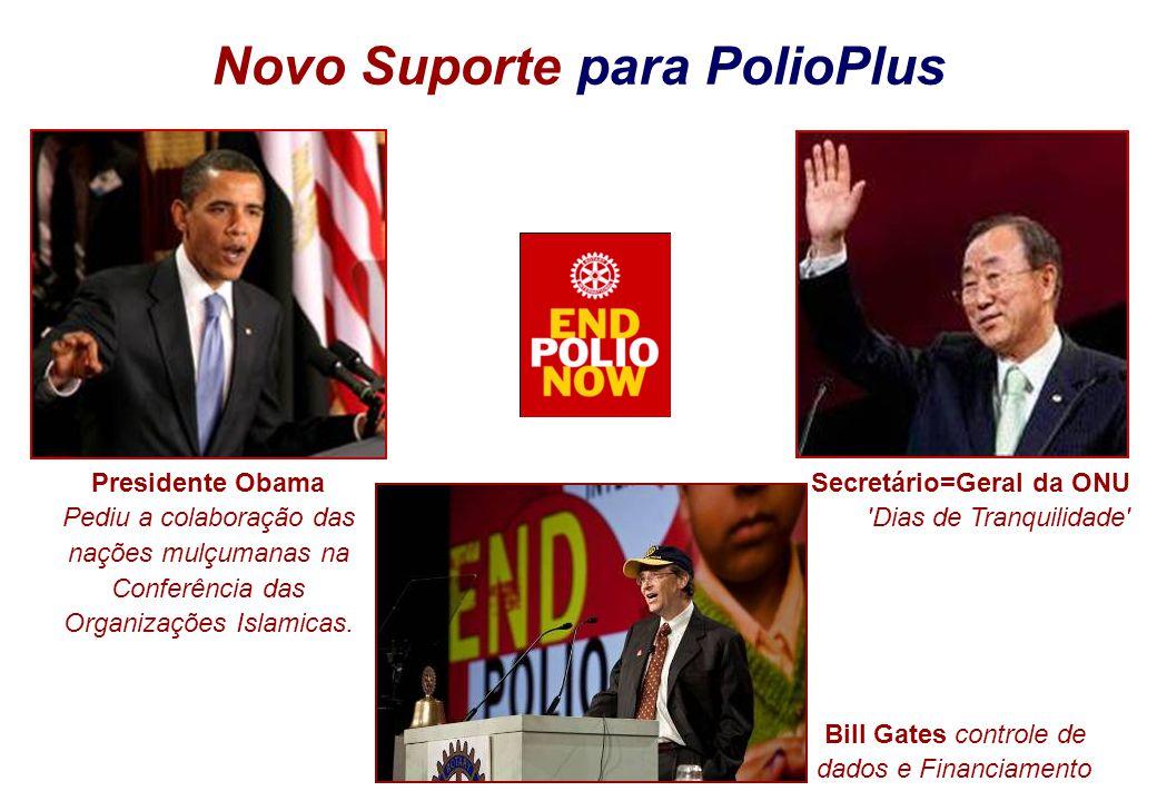 Novo Suporte para PolioPlus