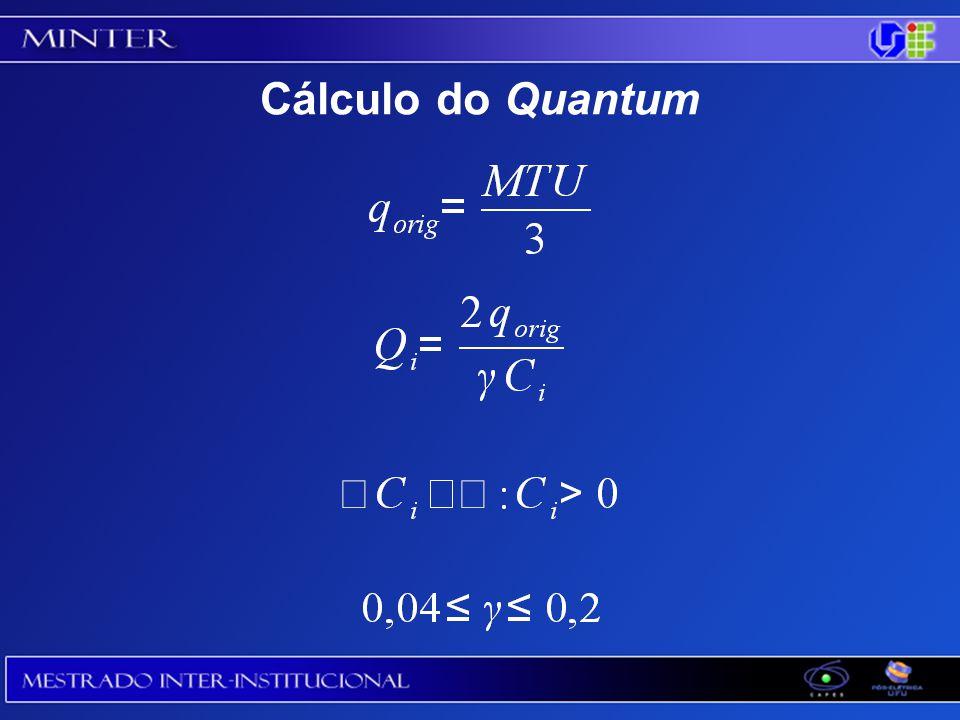 Cálculo do Quantum