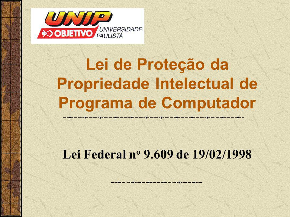 Lei de Proteção da Propriedade Intelectual de Programa de Computador