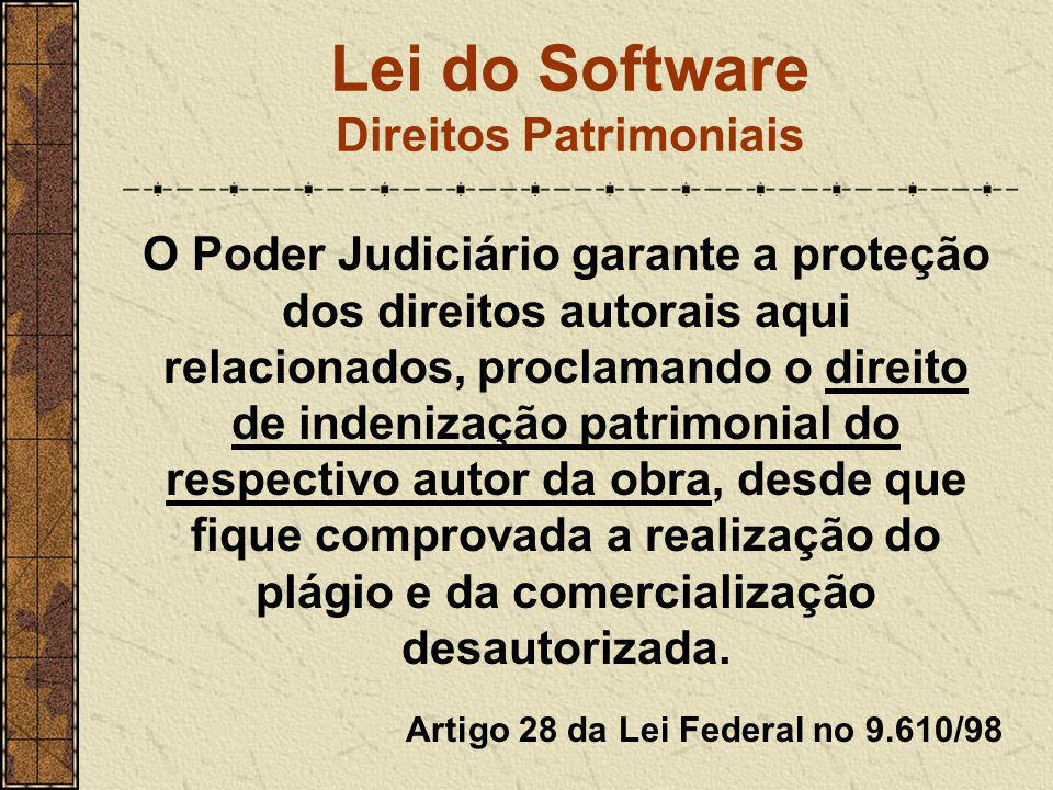 Lei do Software Direitos Patrimoniais