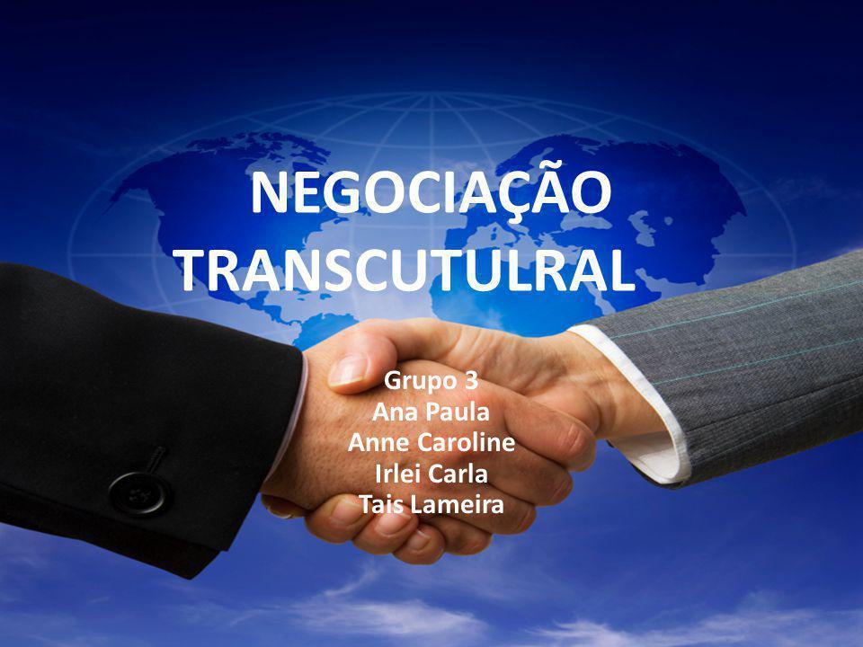 NEGOCIAÇÃO TRANSCUTULRAL