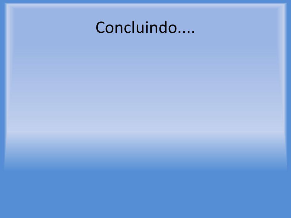 Concluindo....