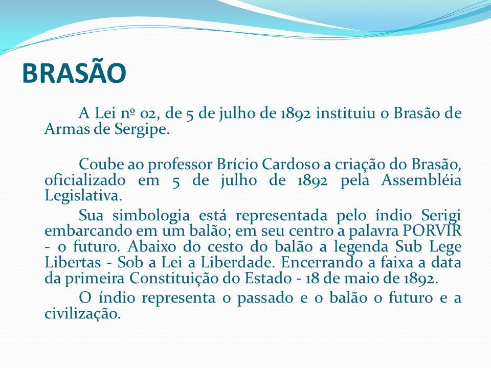 Sobre Sergipe BRASÃO