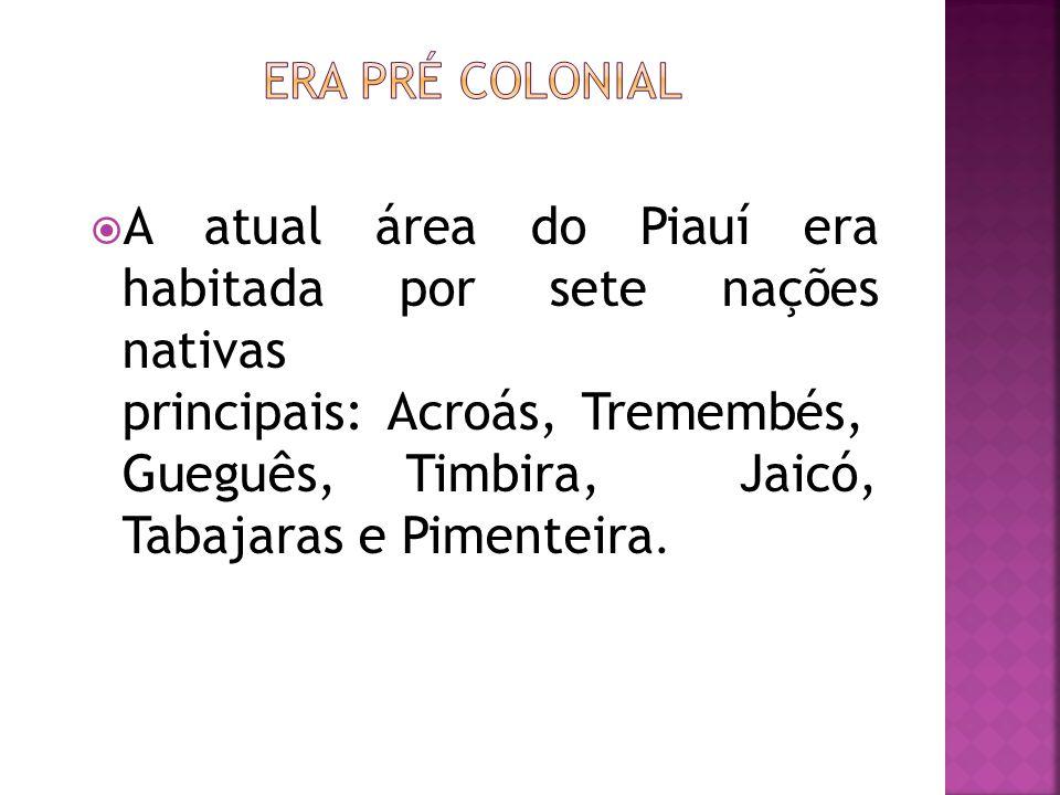 Era Pré Colonial