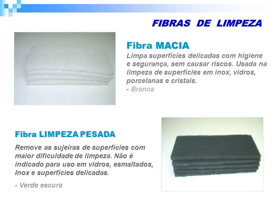 FIBRAS DE LIMPEZA Fibra LIMPEZA PESADA - Branca