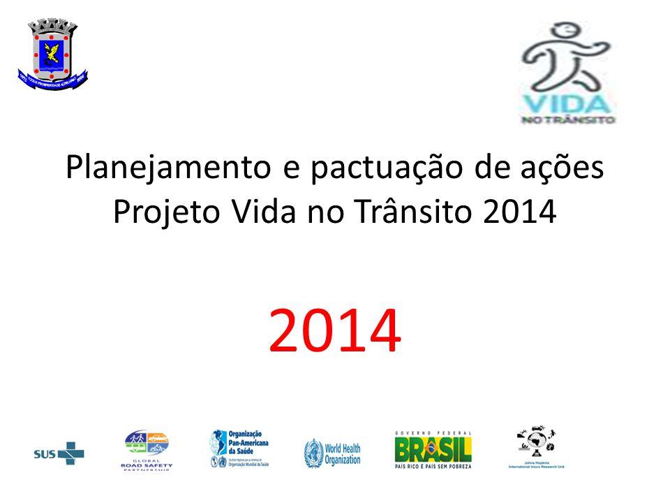 Planejamento e pactuação de ações Projeto Vida no Trânsito 2014