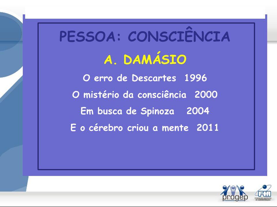 O mistério da consciência 2000 E o cérebro criou a mente 2011