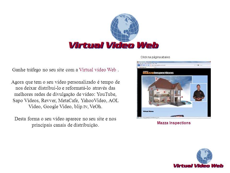 Ganhe tráfego no seu site com a Virtual vídeo Web .