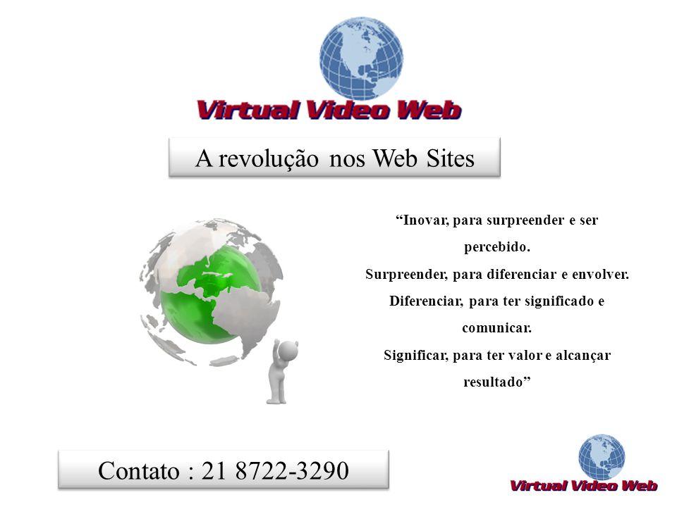 A revolução nos Web Sites