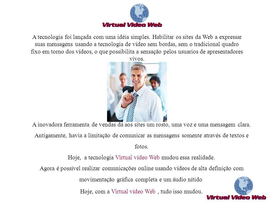 Hoje, a tecnologia Virtual vídeo Web mudou essa realidade.