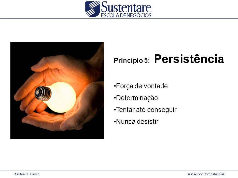Princípio 5: Persistência