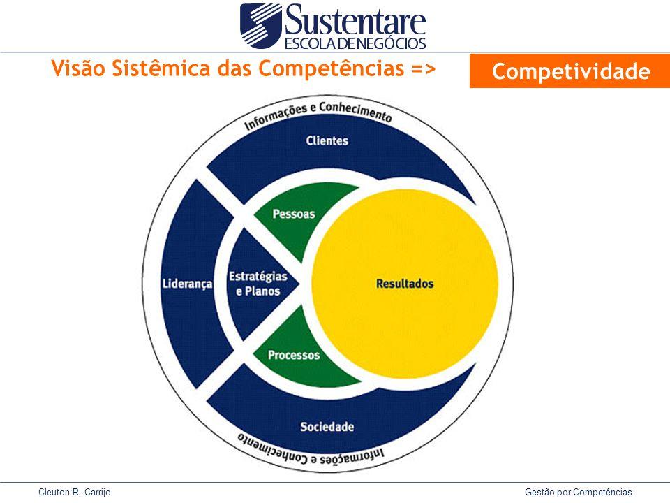Visão Sistêmica das Competências =>