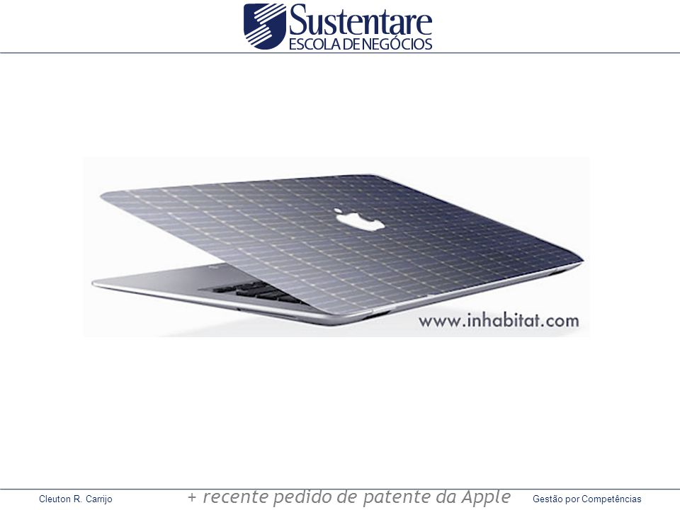 + recente pedido de patente da Apple