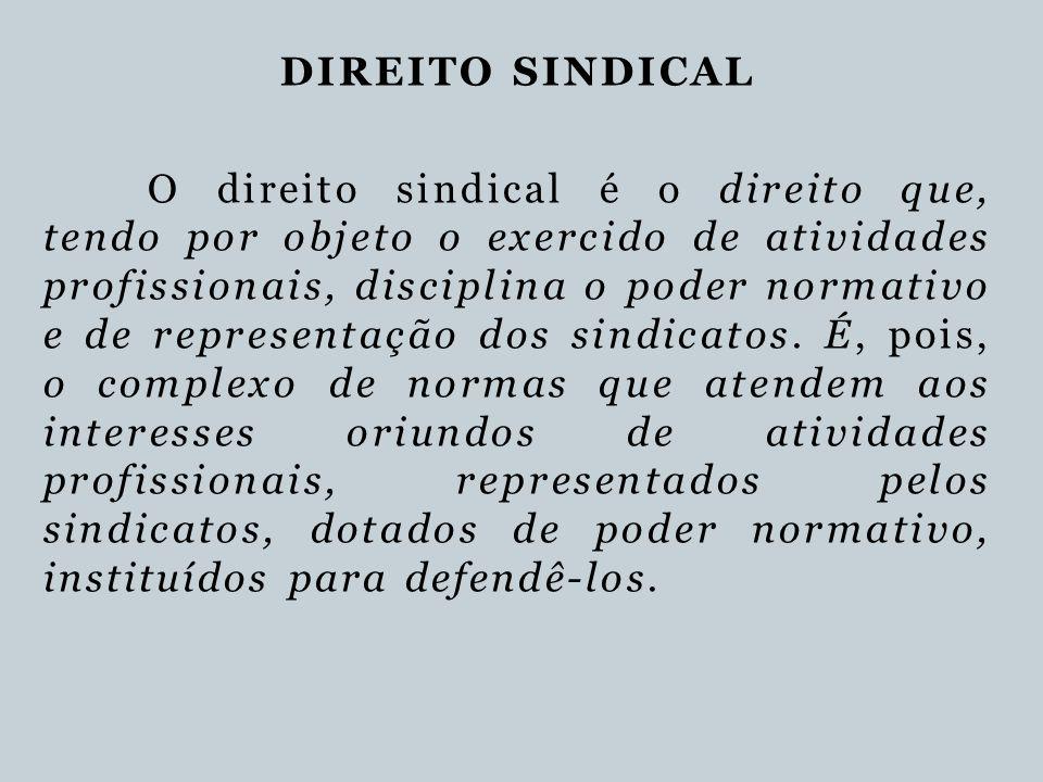 DIREITO SINDICAL