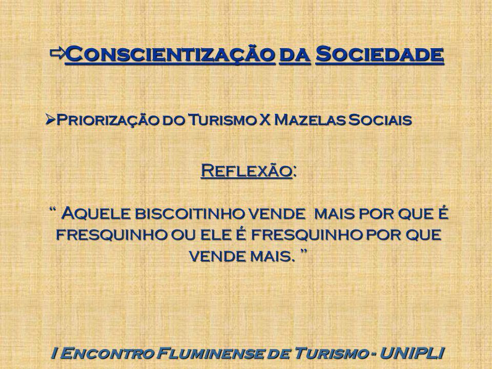 Conscientização da Sociedade