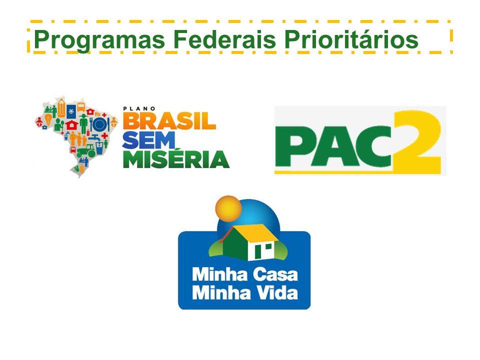 Programas Federais Prioritários
