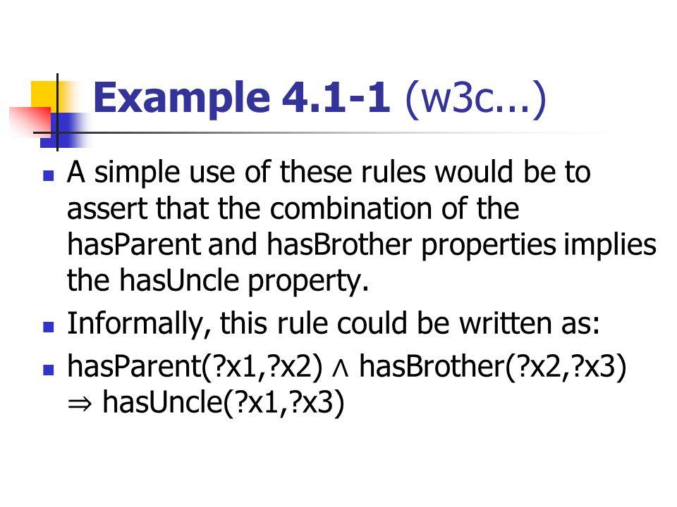 Example 4.1-1 (w3c...)
