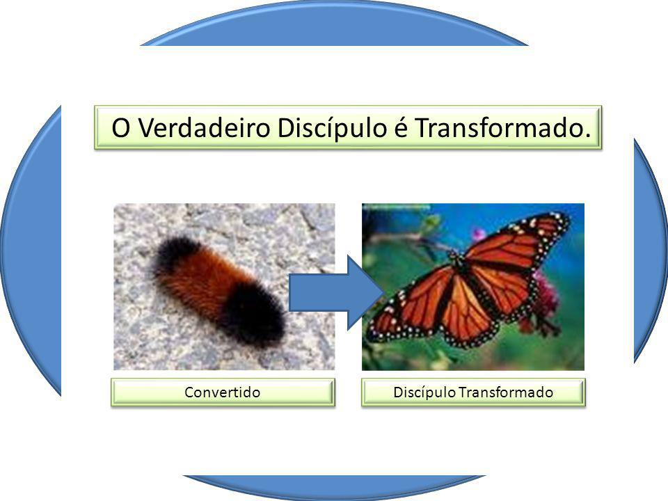 O Verdadeiro Discípulo é Transformado.