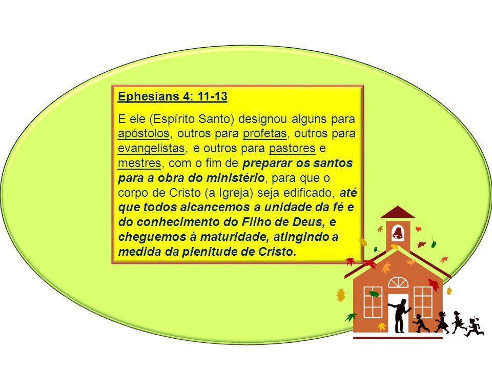 Ephesians 4: 11-13