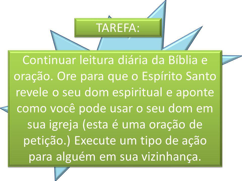 TAREFA: