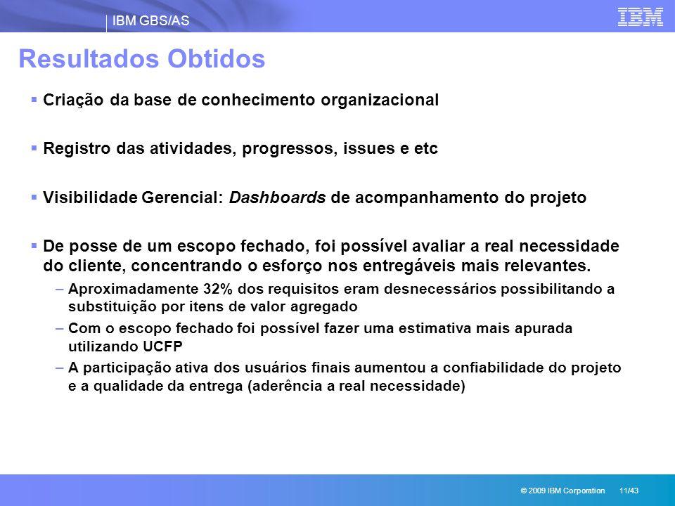 Resultados Obtidos Criação da base de conhecimento organizacional