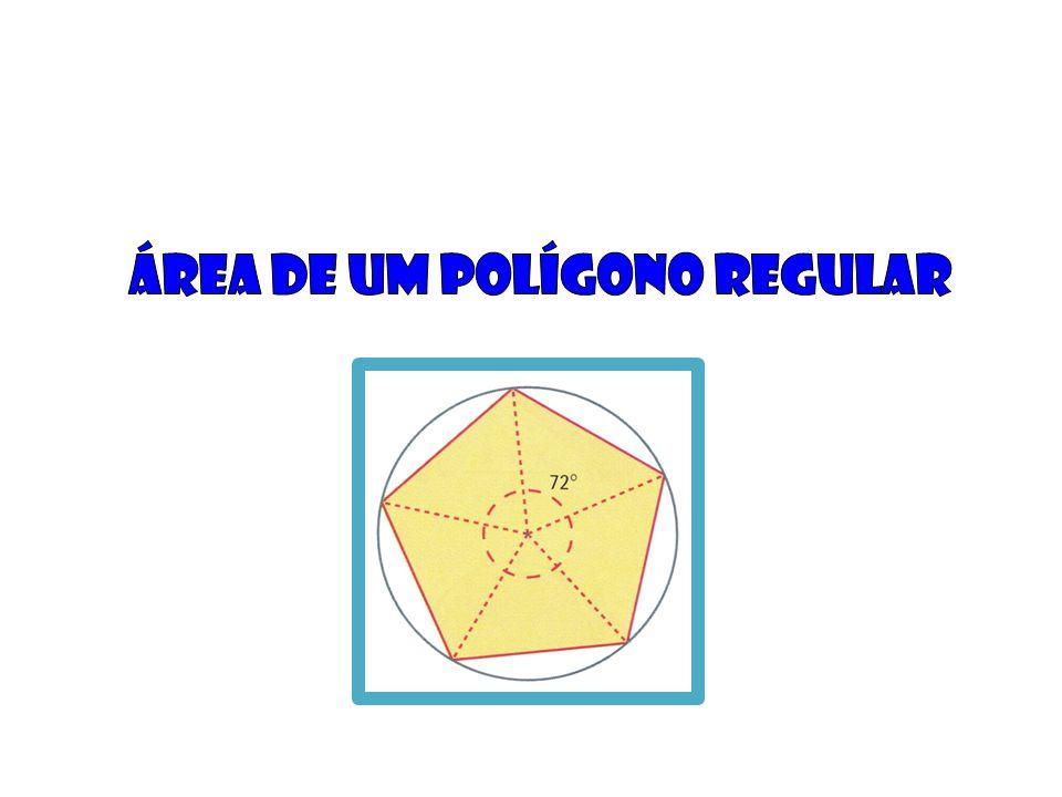 Área de um polígono regular