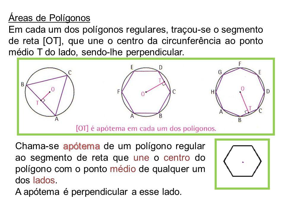 Áreas de Polígonos