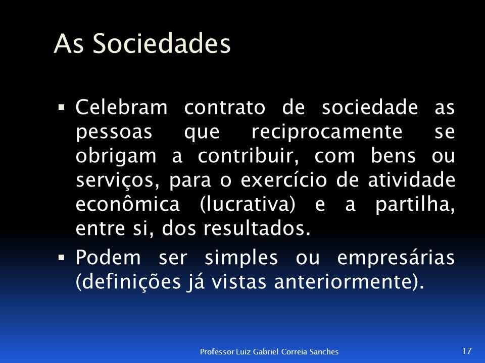 As Sociedades