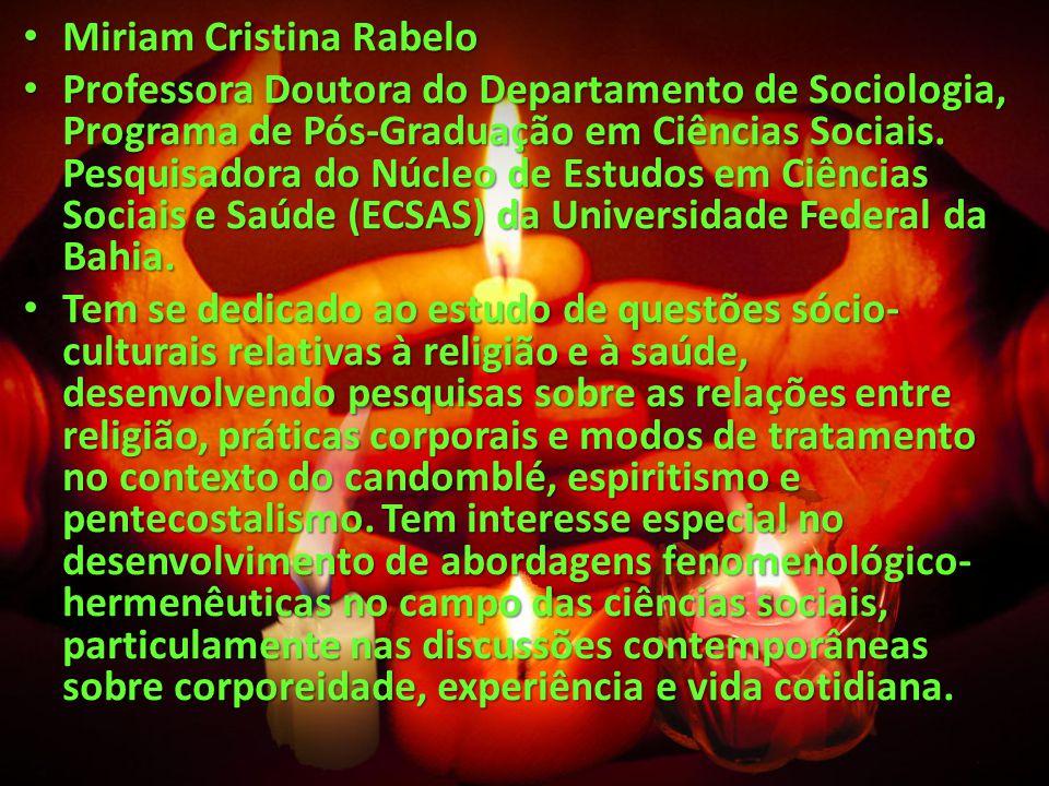 Miriam Cristina Rabelo