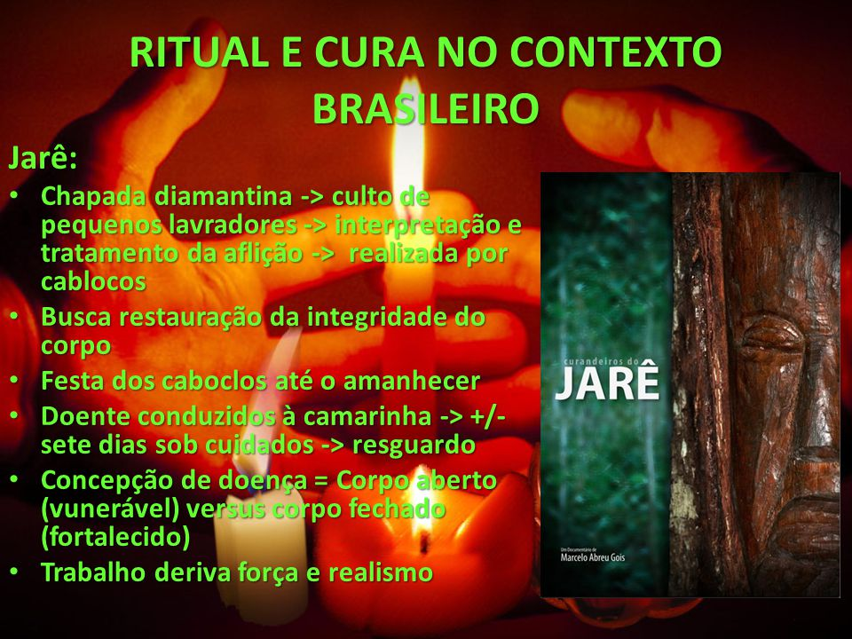 RITUAL E CURA NO CONTEXTO BRASILEIRO