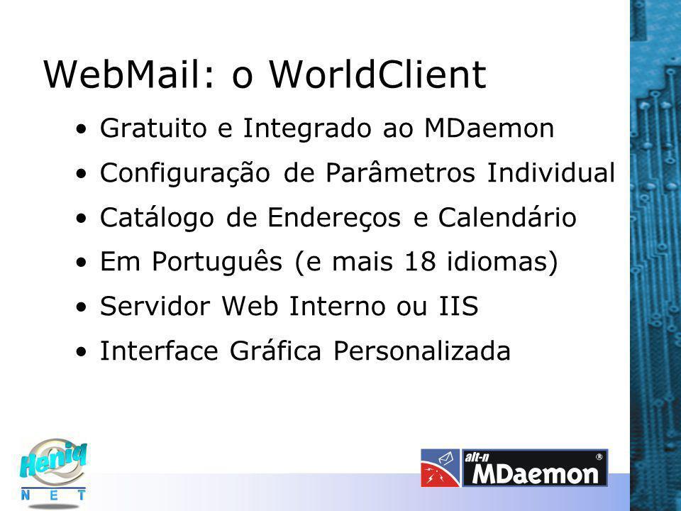 WebMail: o WorldClient