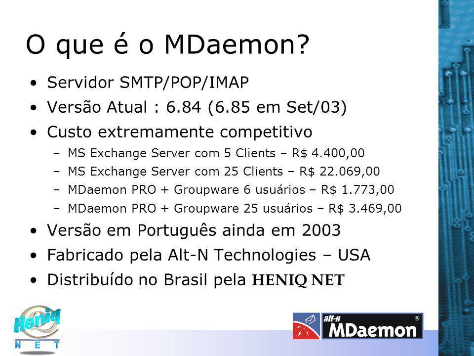 O que é o MDaemon Servidor SMTP/POP/IMAP