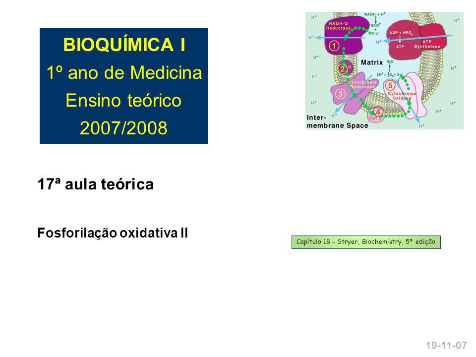 Capítulo 18 – Stryer, Biochemistry, 5ª edição