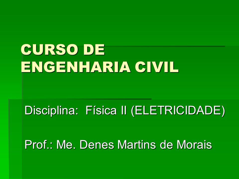 CURSO DE ENGENHARIA CIVIL