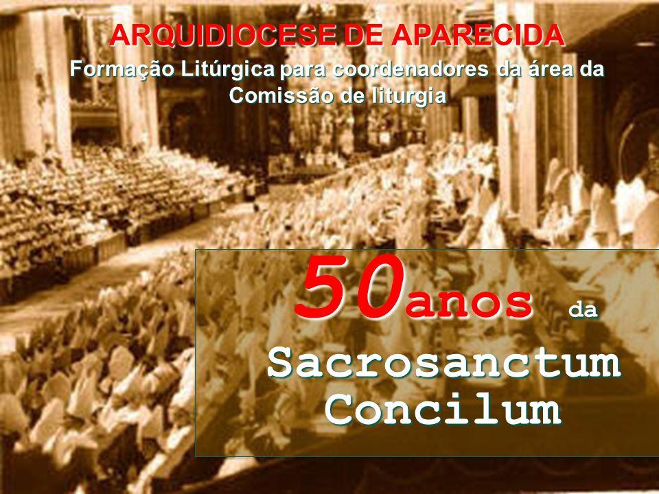 50anos da Sacrosanctum Concilum