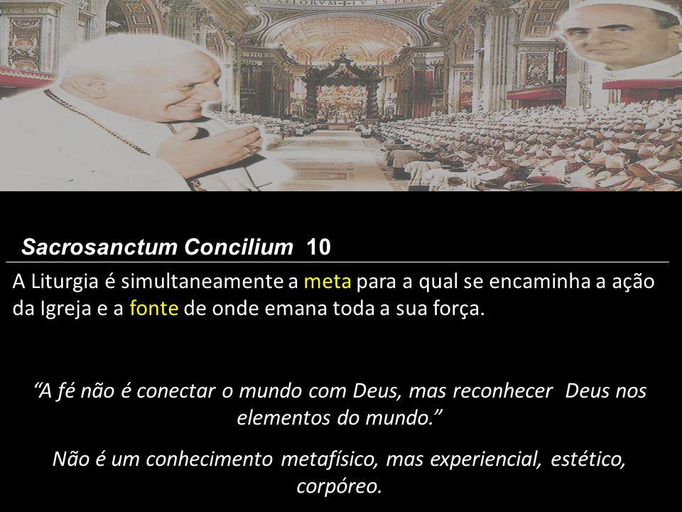 Sacrosanctum Concilium 10