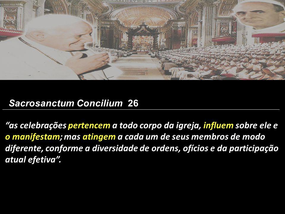 Sacrosanctum Concilium 26
