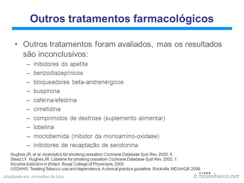 Outros tratamentos farmacológicos