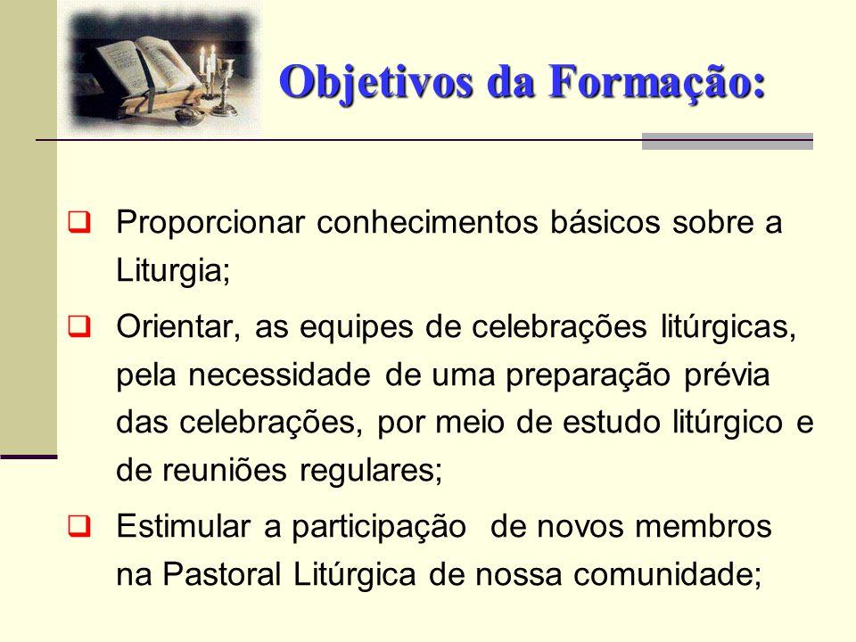 Objetivos da Formação: