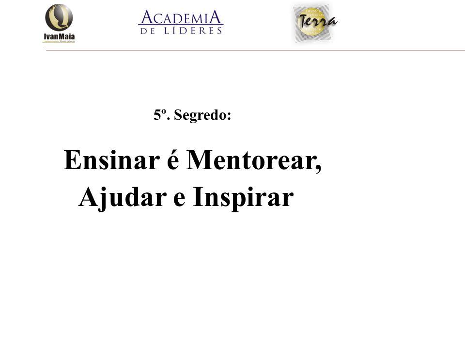 Ensinar é Mentorear, Ajudar e Inspirar