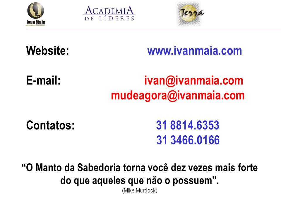 Website: www.ivanmaia.com E-mail: ivan@ivanmaia.com