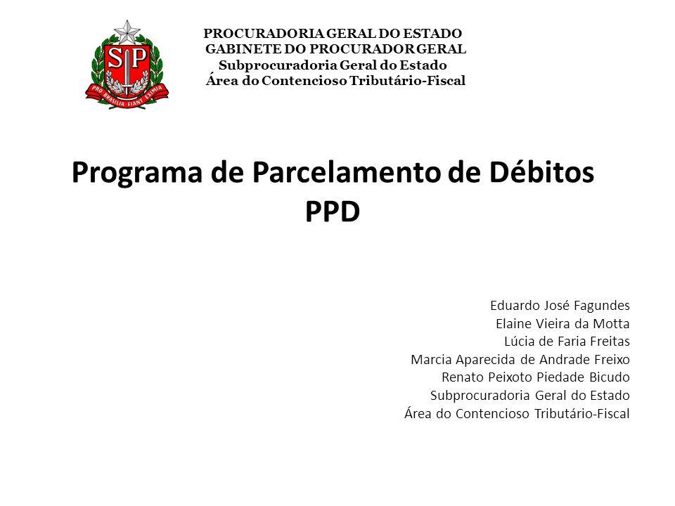 Programa de Parcelamento de Débitos