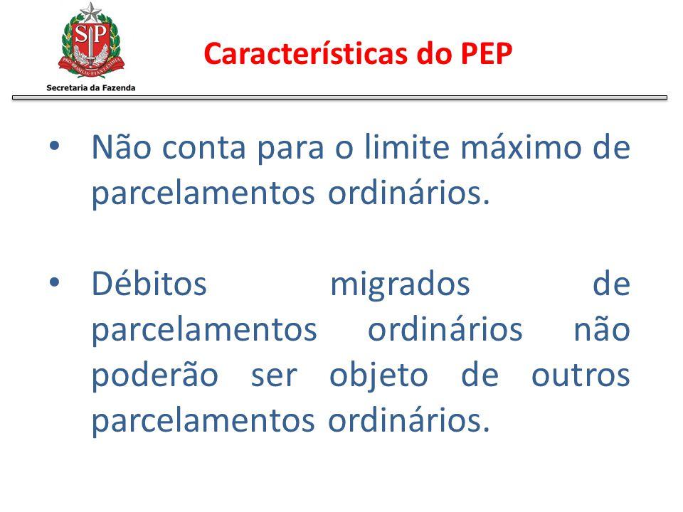 Características do PEP