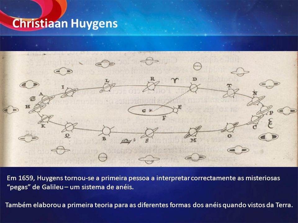 Christiaan Huygens ©2008 HowStuffWorks. Em 1659, Huygens tornou-se a primeira pessoa a interpretar correctamente as misteriosas.