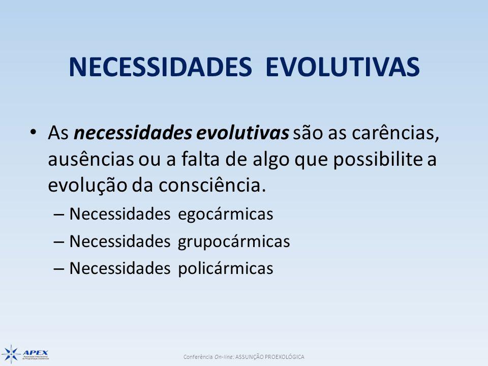 NECESSIDADES EVOLUTIVAS