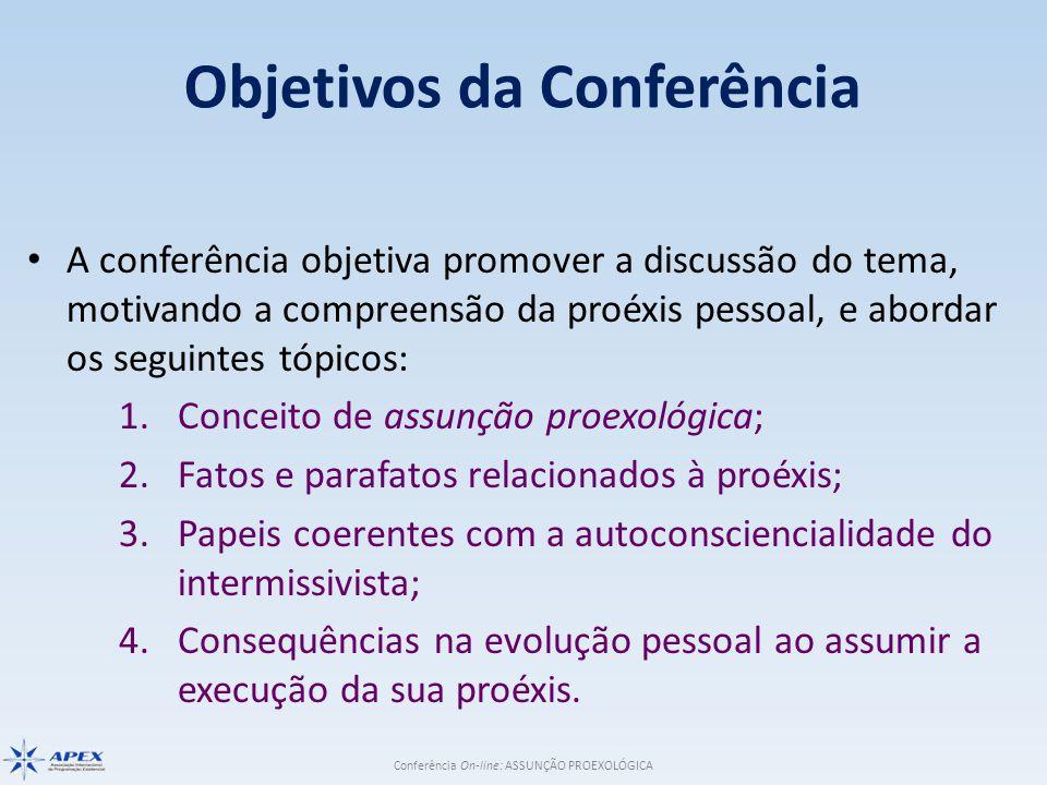 Objetivos da Conferência