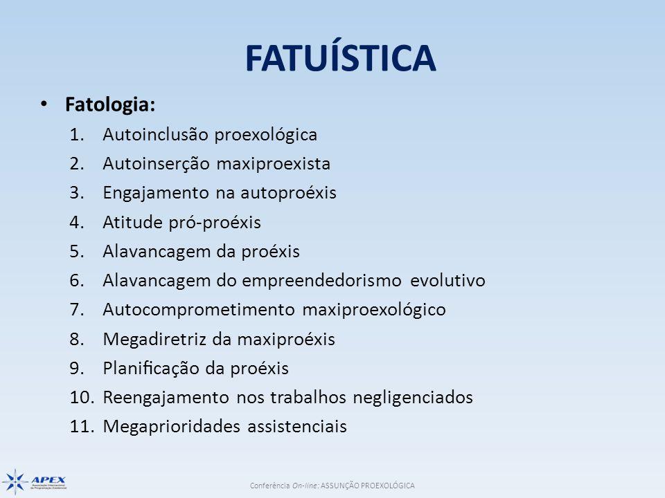 FATUÍSTICA Fatologia: Autoinclusão proexológica