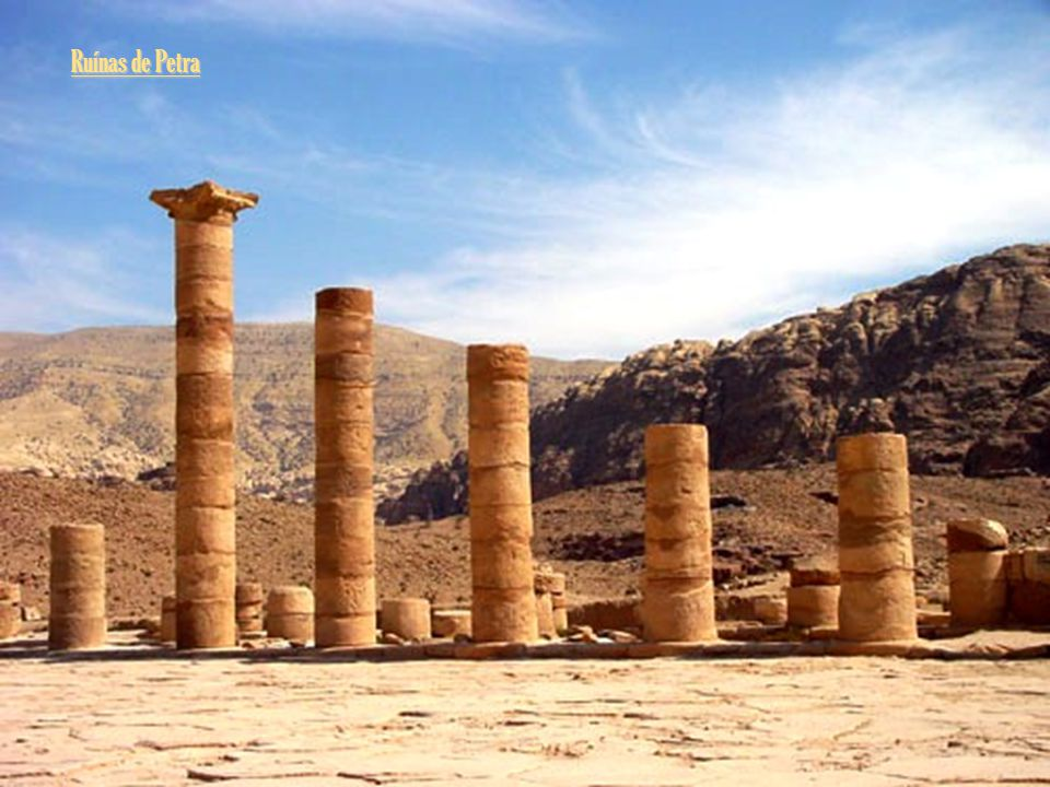 Ruínas de Petra