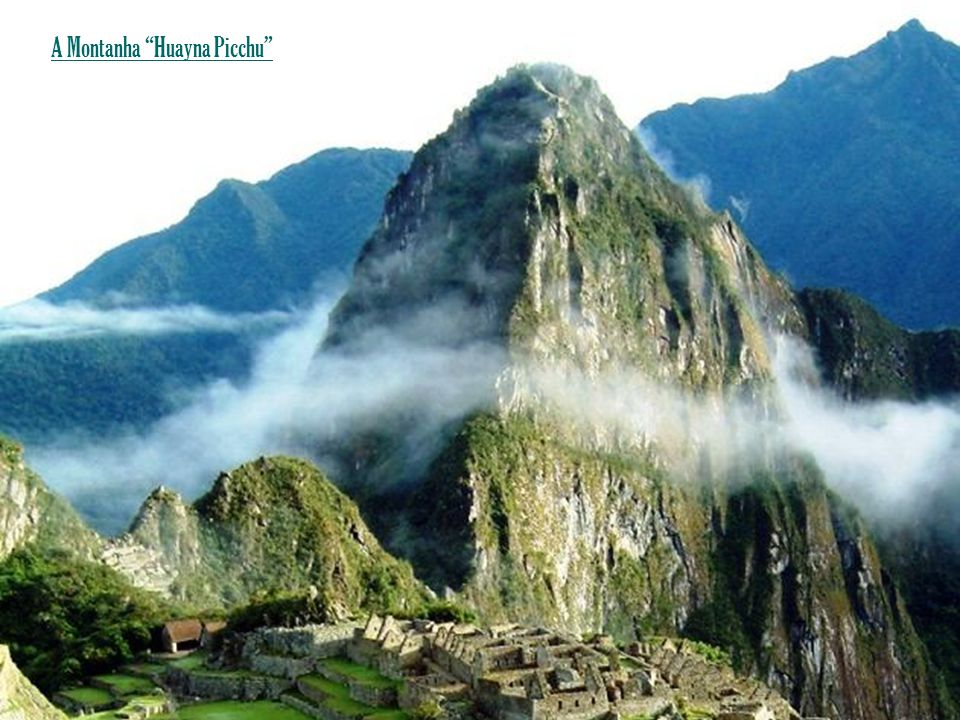 A Montanha Huayna Picchu