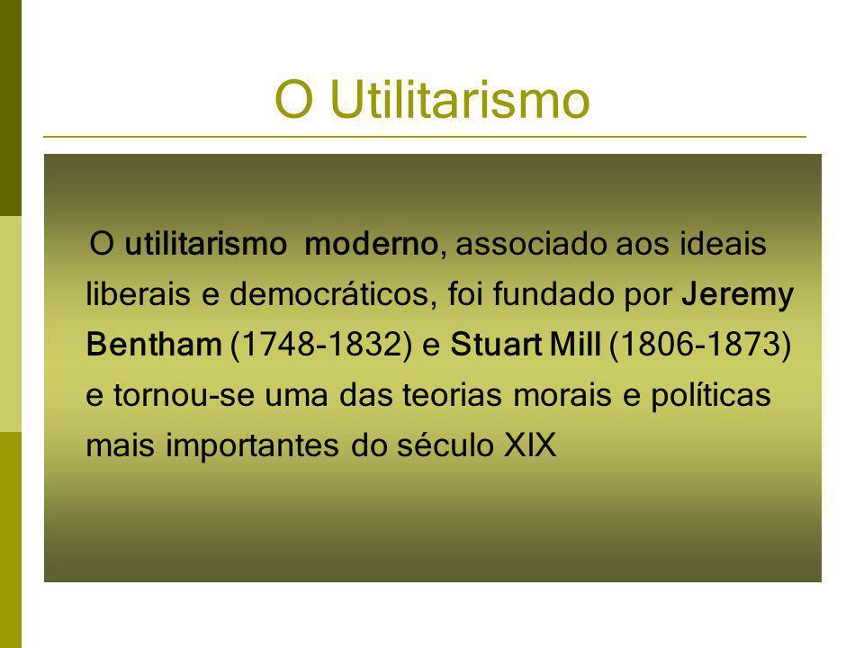 O Utilitarismo